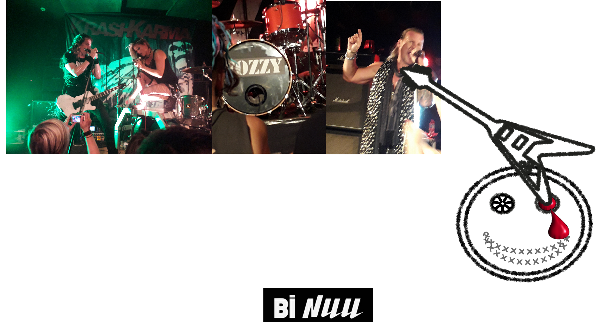 Review: Fozzy @ Bi Nuu, Berlin 4/8/18 by Graveyard